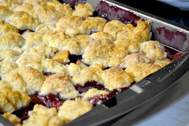 Peach and Blueberry Cobbler_00