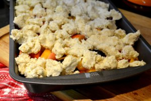 Peach and Blueberry Cobbler_06