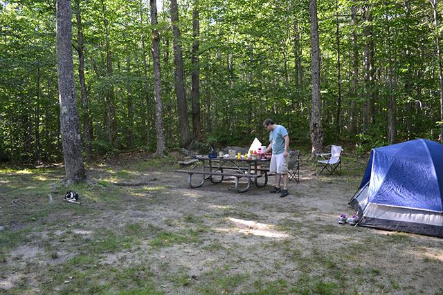Pillsbury State Park Camping_15