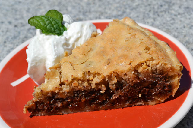 Kentucky Derby Chocolate Walnut Pie