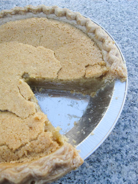 Brown Sugar Chess Pie-4