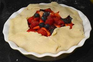 Mixed Berry Rustic Pie_13