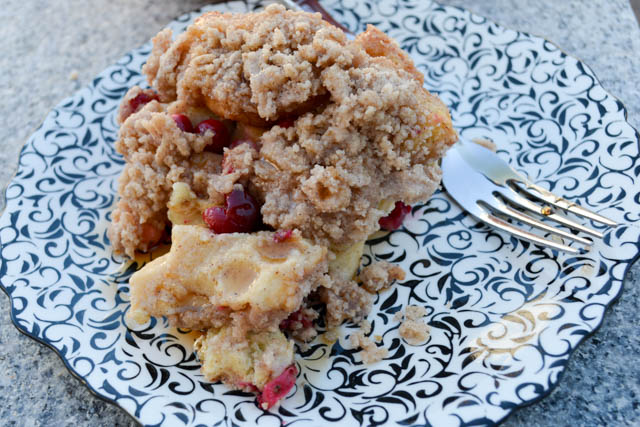 Cranberry French Toast Casserole-2