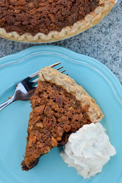 Double Chocolate Pecan Pie-3