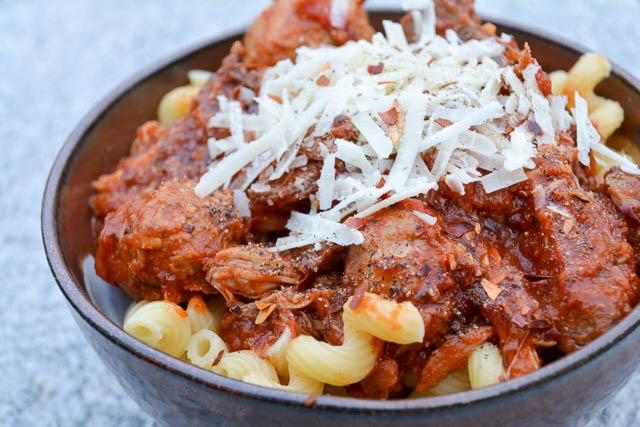 Four Meat Italian Gravy-3