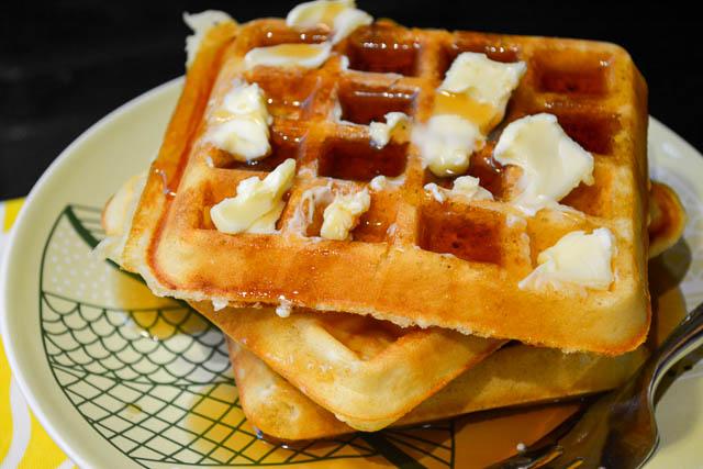 Classic Homemade Waffles-4
