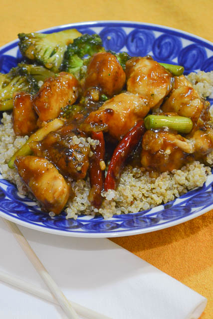 Homemade General Tso's Chicken-3