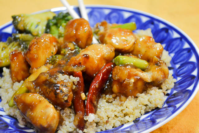 Homemade General Tso's Chicken-4