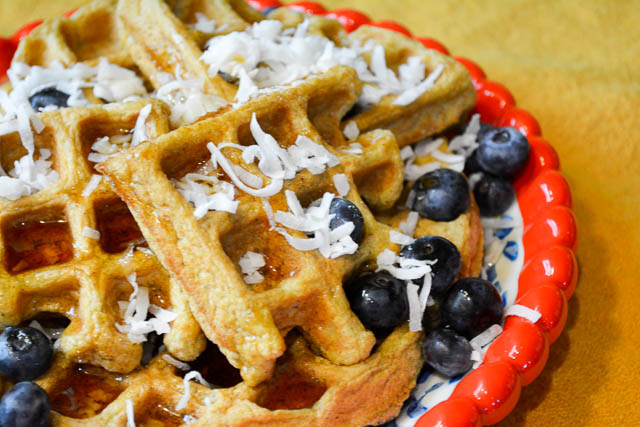 Paleo Coconut Waffles-2