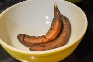 Double Chocolate Banana Muffins-6