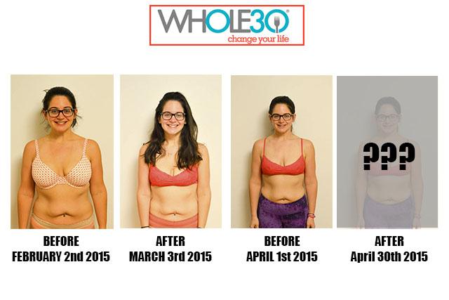 Nicole Whole30 Progress