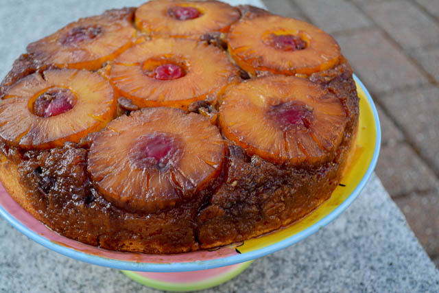 Pineapple Upside Down Cake-1