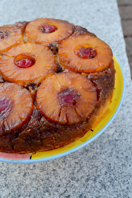 Pineapple Upside Down Cake-3