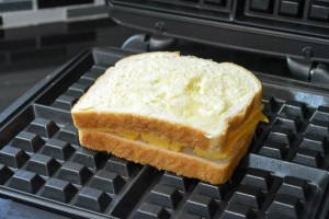 Waffle Iron Grilled Cheese-7