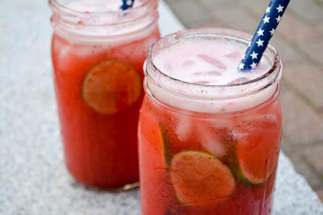 Strawberry Agua de Fresca-1