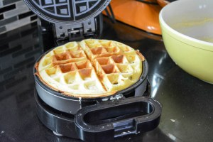 The Best Buttermilk Waffles-11