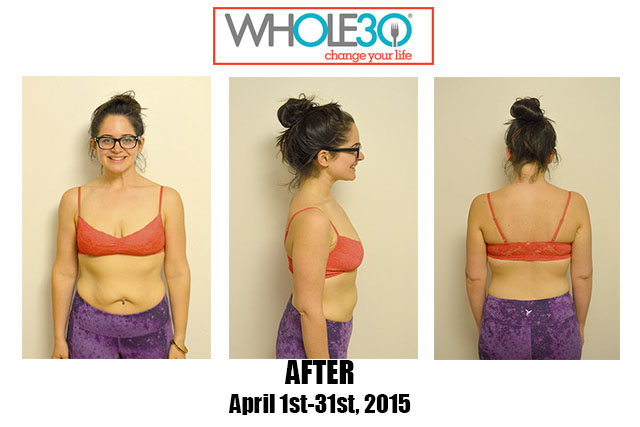 Nicole Whole30 April 2015 AFTER