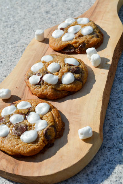 S'mores Chocolate Chip Cookies-2
