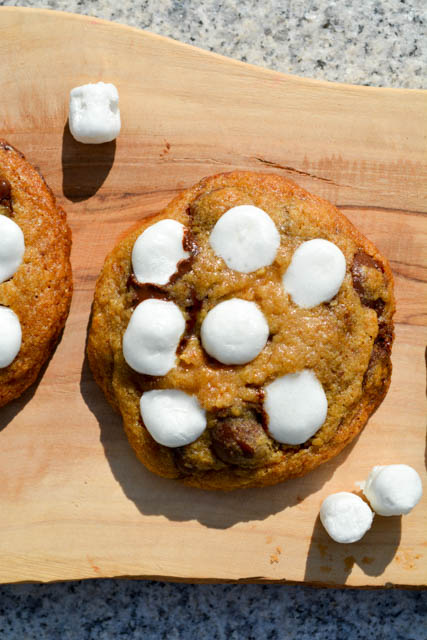 S'mores Chocolate Chip Cookies-3