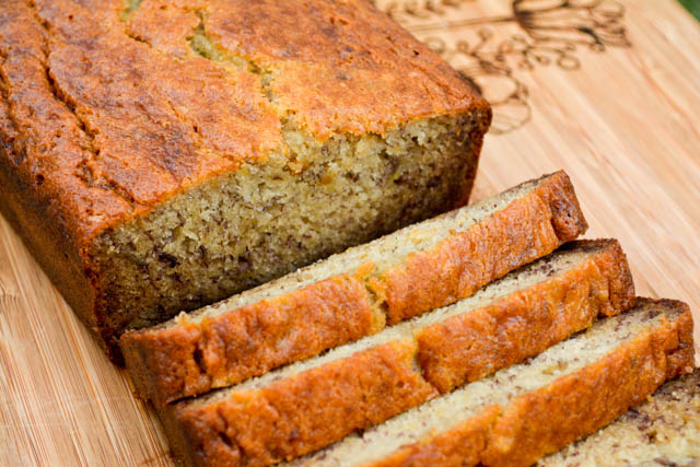 Buttermilk Banana Bread-5