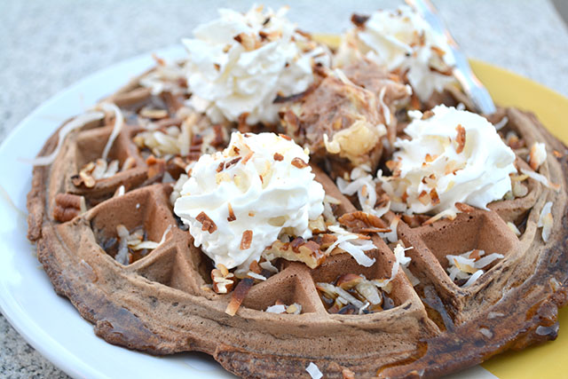 German's Chocolate Cake Waffles_01