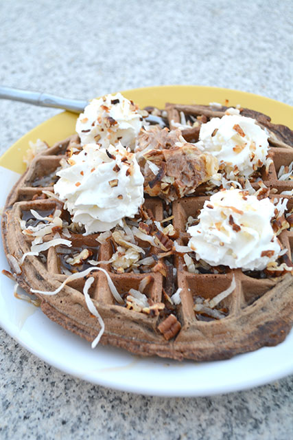 German's Chocolate Cake Waffles_02