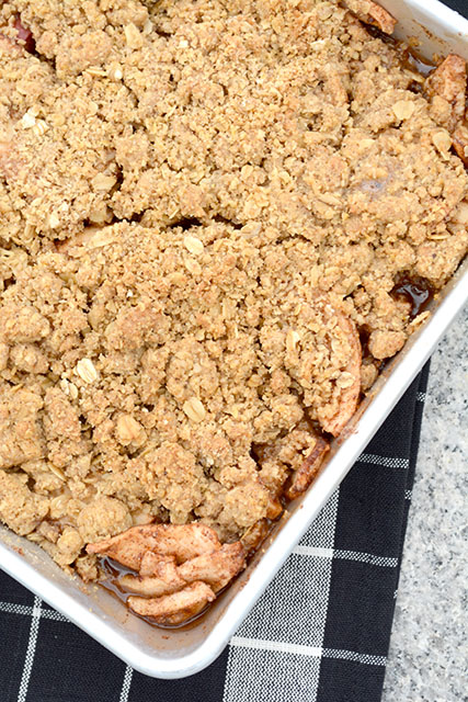 Oatmeal Cookie Apple Crisp_3