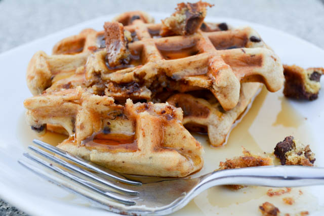 Chocolate Chip Cookie Waffles-03