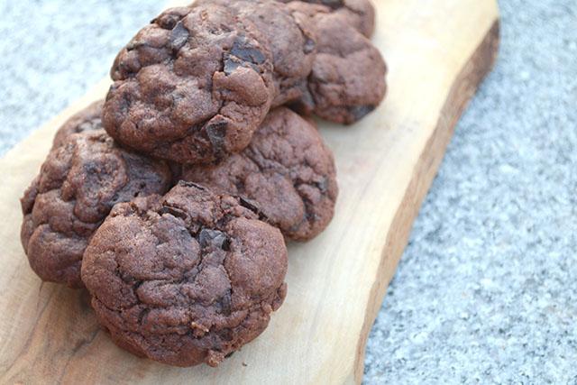 Chocolate Chunk Chocolate Pudding Cookies_02