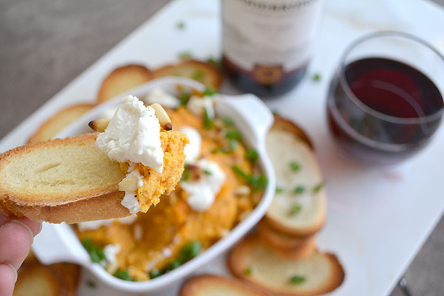 Roasted Butternut Squash and Goat Cheese Dip_02