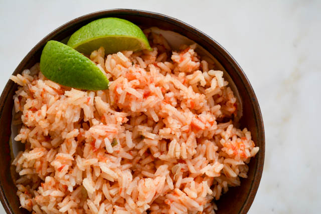 Restaurant Style Mexican Rice-03