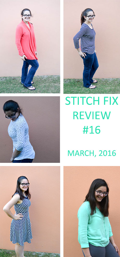 Stitch Fix Review- March 2016