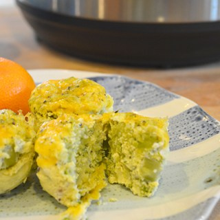 Cheddar Broccoli Copy Cat Starbucks Instant Pot Egg Bites