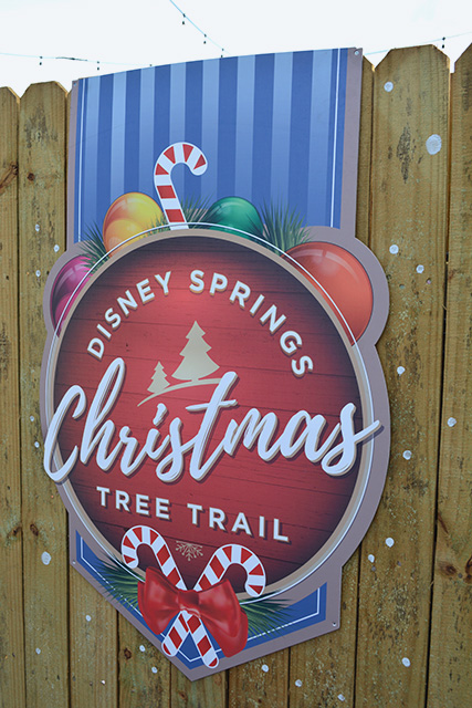 Visiting Disney Springs' Christmas Tree Trail- 80+ Picture Photo Tour