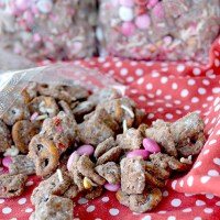 Sweetheart Chocolate Chex Mix