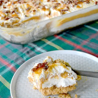 Delightful Pumpkin Dessert Lasagna
