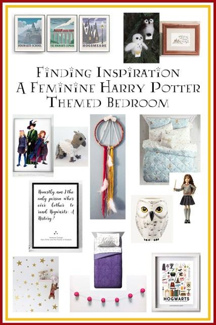 Decor Inspiration A Feminine Harry Potter Themed Bedroom
