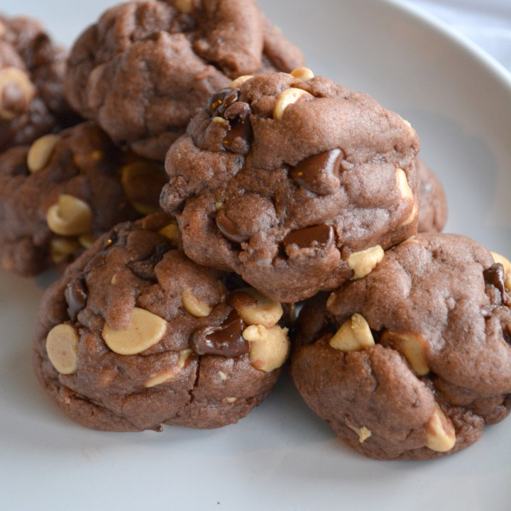 Peanut Butter Chip Chocolate Pudding Cookies
