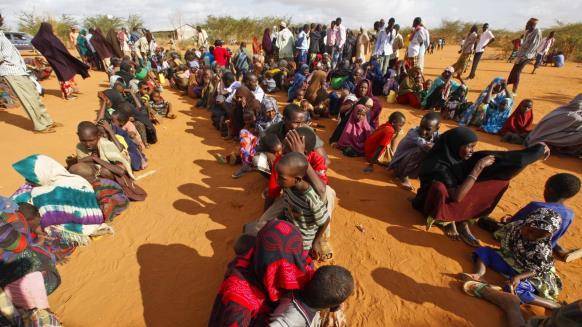 نازحون صوماليون
