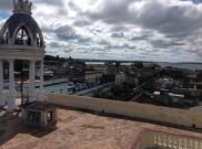 From the roof of the Duarte mansion