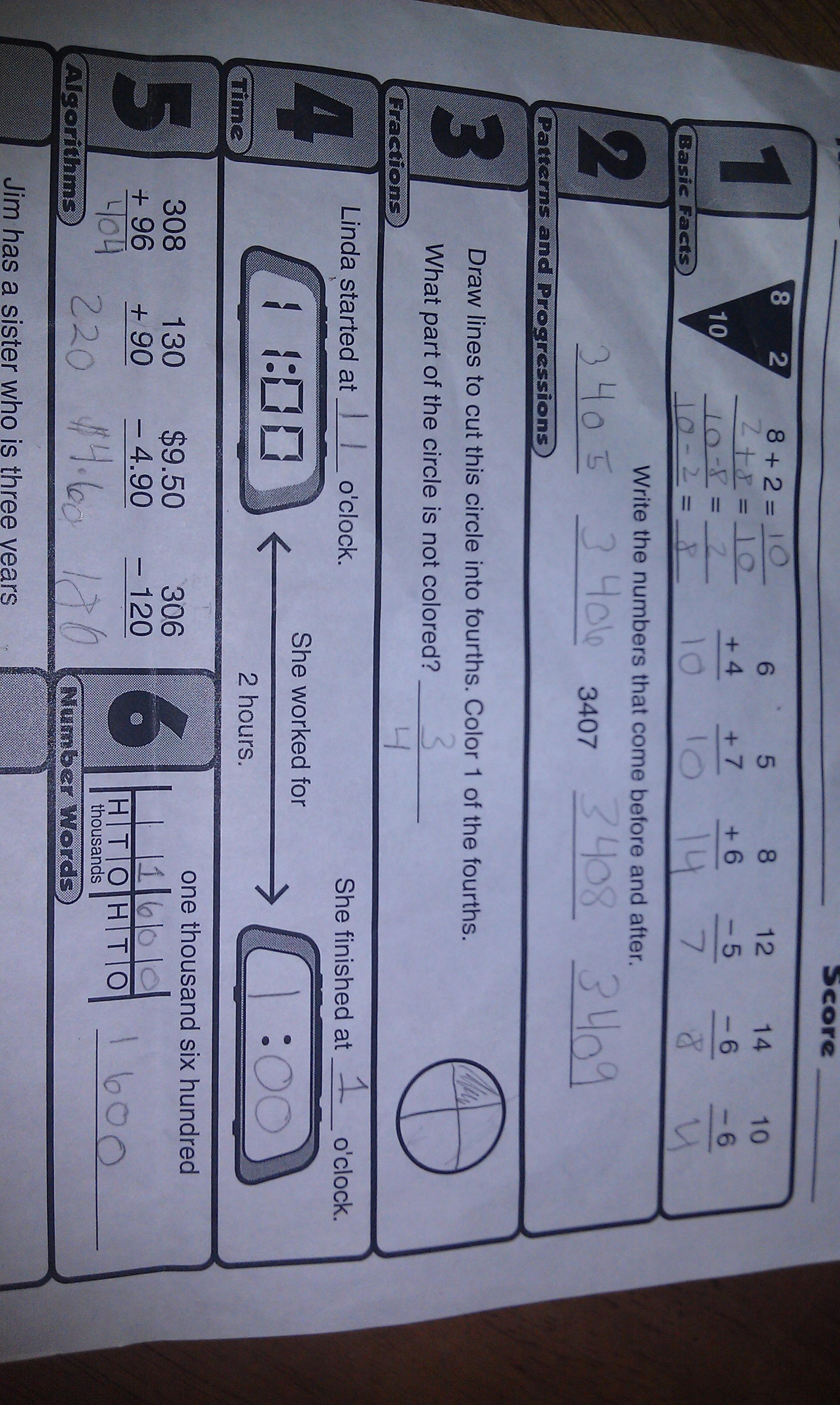Khan Math Worksheets