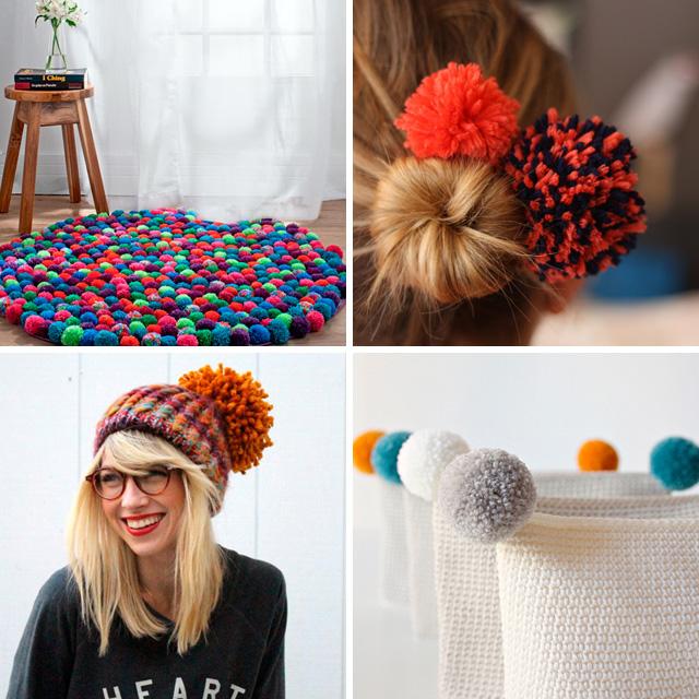 DIY pompon ideas