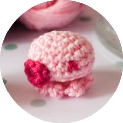 "Crochet Candy Octopus By ""I am a Mess"""