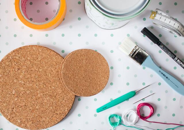 "DIY crochet board by ""I am a Mess"""