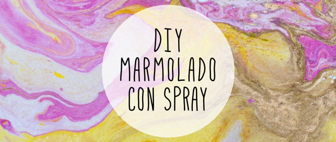 "marmolado con spray DIY by ""I am a Mess Blog"""