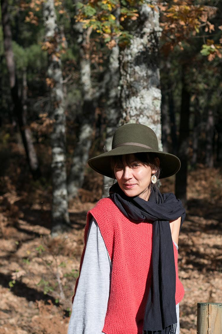 Marsala Sweater, kit de Entre fils i madeixes