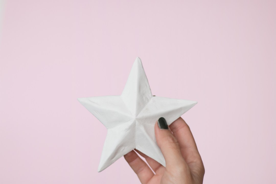 DIY estrellas faciles de arcilla