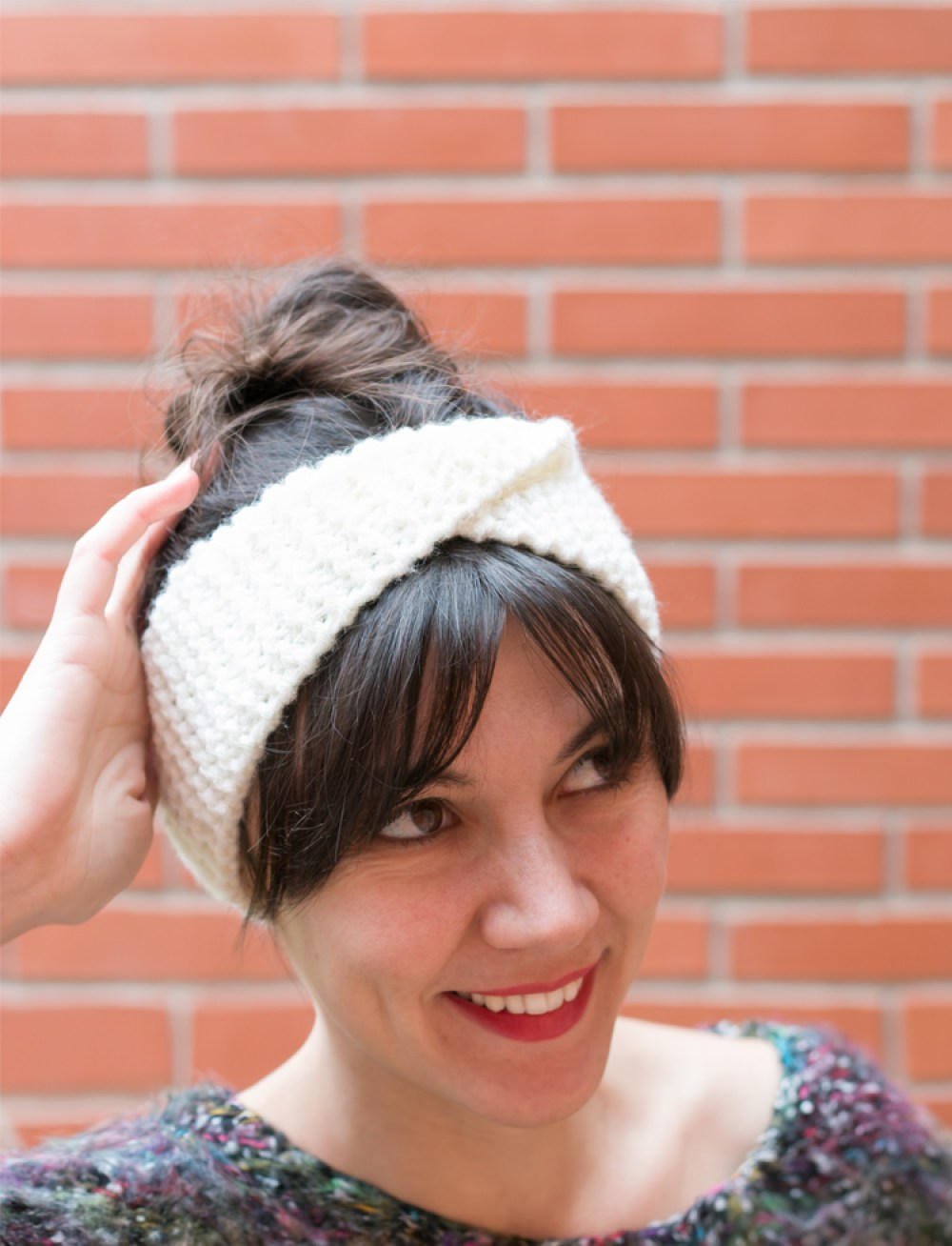 DIY: turbante de punto súper fácil