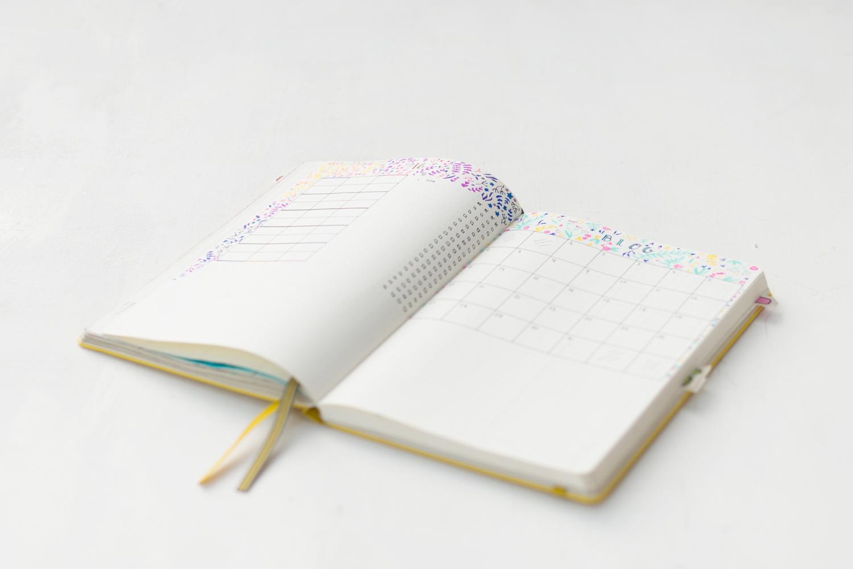 Cómo organizo el mes en el Bullet Journal