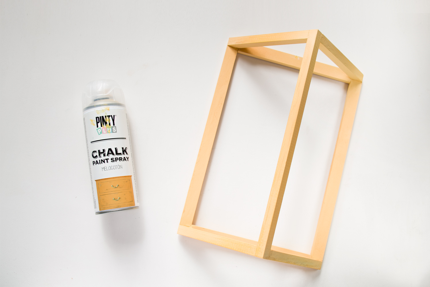 chalk en spray melocoton